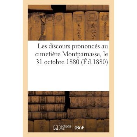 Les Discours Prononc�s Au Cimeti�re Montparnasse, Le 31 Octobre - Le 31 Octobre Halloween