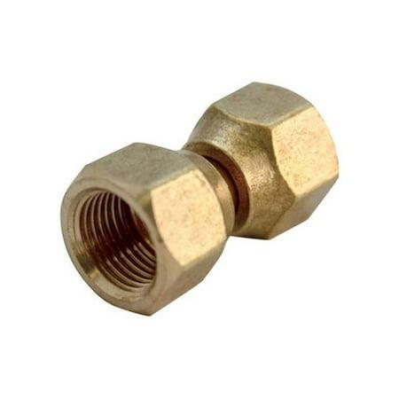 JMF  1/4 in. Female   x 1/4 in. Dia. Brass  Flare Female - Jmf Compression Connector Lead