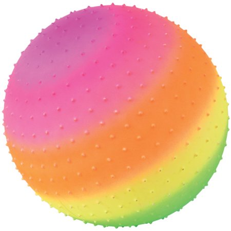 (Price/Each)US TOY GS861 Rainbow Knobby Ball / 18 inch