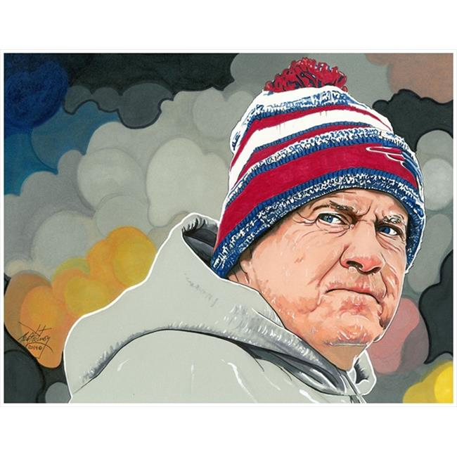 Deacon Jones Foundation NP-04R A Coach Coach Art Print, by Neal Portnoy - Rolled