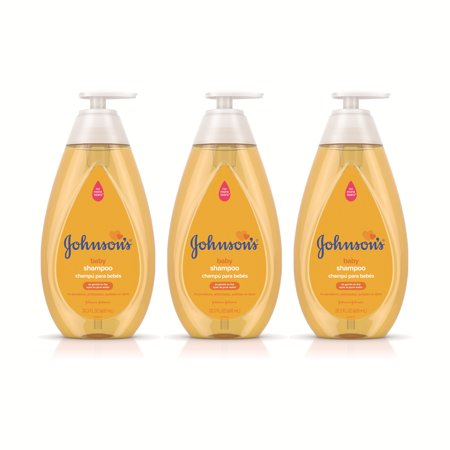 Johnson's Baby Shampoo with Tear Free Formula Triple-Pack, 3 x 20.3 fl.