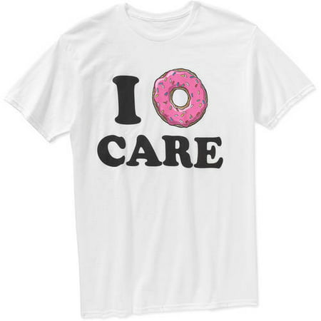 I Donut Care Mens Graphic Tee
