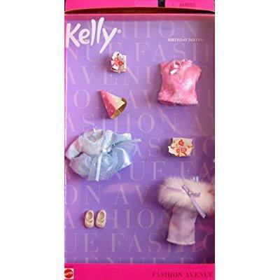 Mattel barbie kelly birthday party fashion avenue clothes...