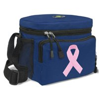 Pink Ribbon Lunch Bag Pink Ribbon Cooler Lunchbox