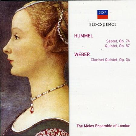 Hummel: Sept in D minor / Weber: CLR QNT