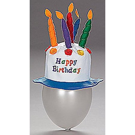 Birthday Cake Hat (Felt Childs Party Happy Birthday Cake Hat with Candles, Felt Birthday Cake with candles hat By Fun)