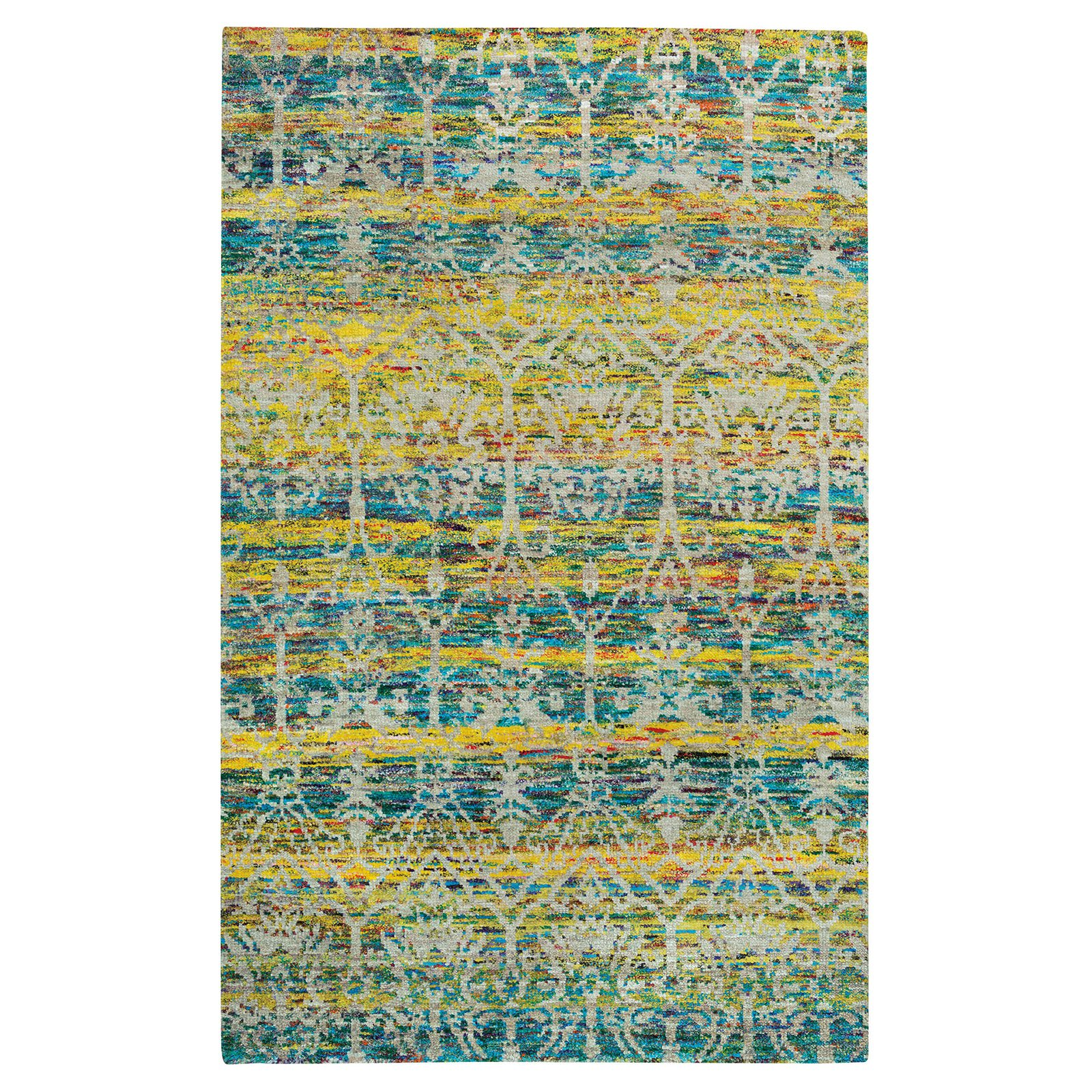 Round About Acrobat Hand-Knotted Area Rug