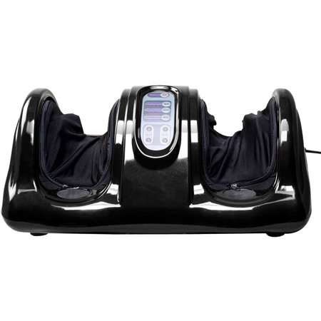 Foot Massager Machine - Health Foot Care - Shiatsu Foot Massager - Kneading and Rolling Foot Massager Machine w/ Remote Control Personal Home Health Care Tool Red Pamper Your Feet