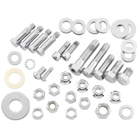 (Bikers Choice F/64085 Rear Axle Nut and Washer Kit)