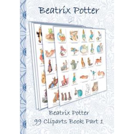 Beatrix Potter 99 Cliparts Book Part 1 ( Peter Rabbit ) - eBook Beatrix Potter Mrs Rabbit