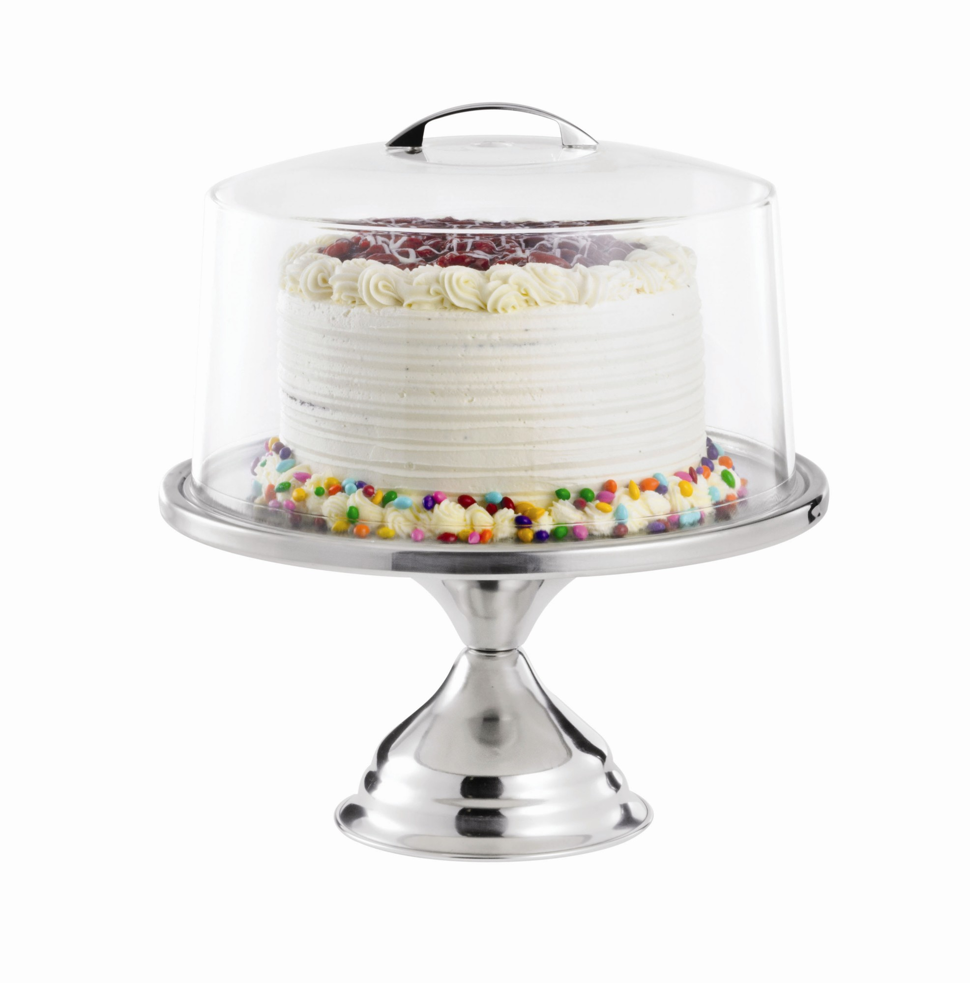 Decorative Cake Stands Tablecraft 2 Piece Cake Stand With Cover Set Walmartcom