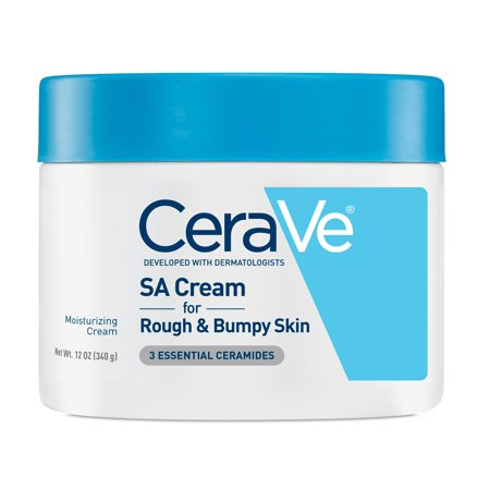 (CeraVe Renewing SA Body Cream for Rough and Bumpy Skin, 12 oz.)