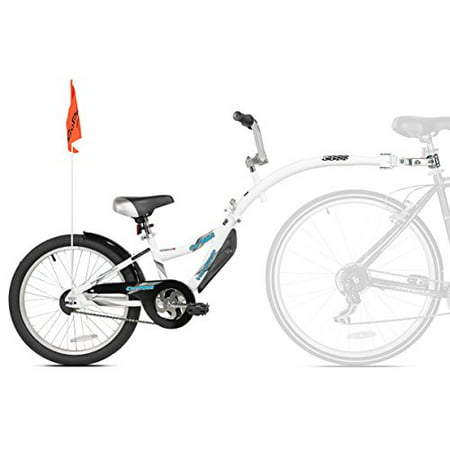 Bike Co-Pilot Trailer - Acts As a Regular Bike w/ Handlebars Seat & Pedals (Copilot Seat)
