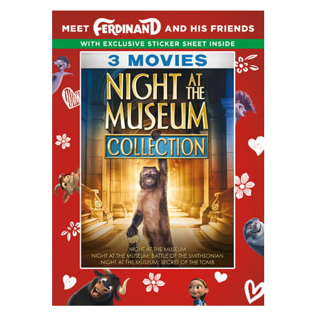 Night At The Museum Collection (Walmart Exclusive) (DVD)