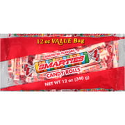 Smarties Halloween Candy Rolls, 12 oz