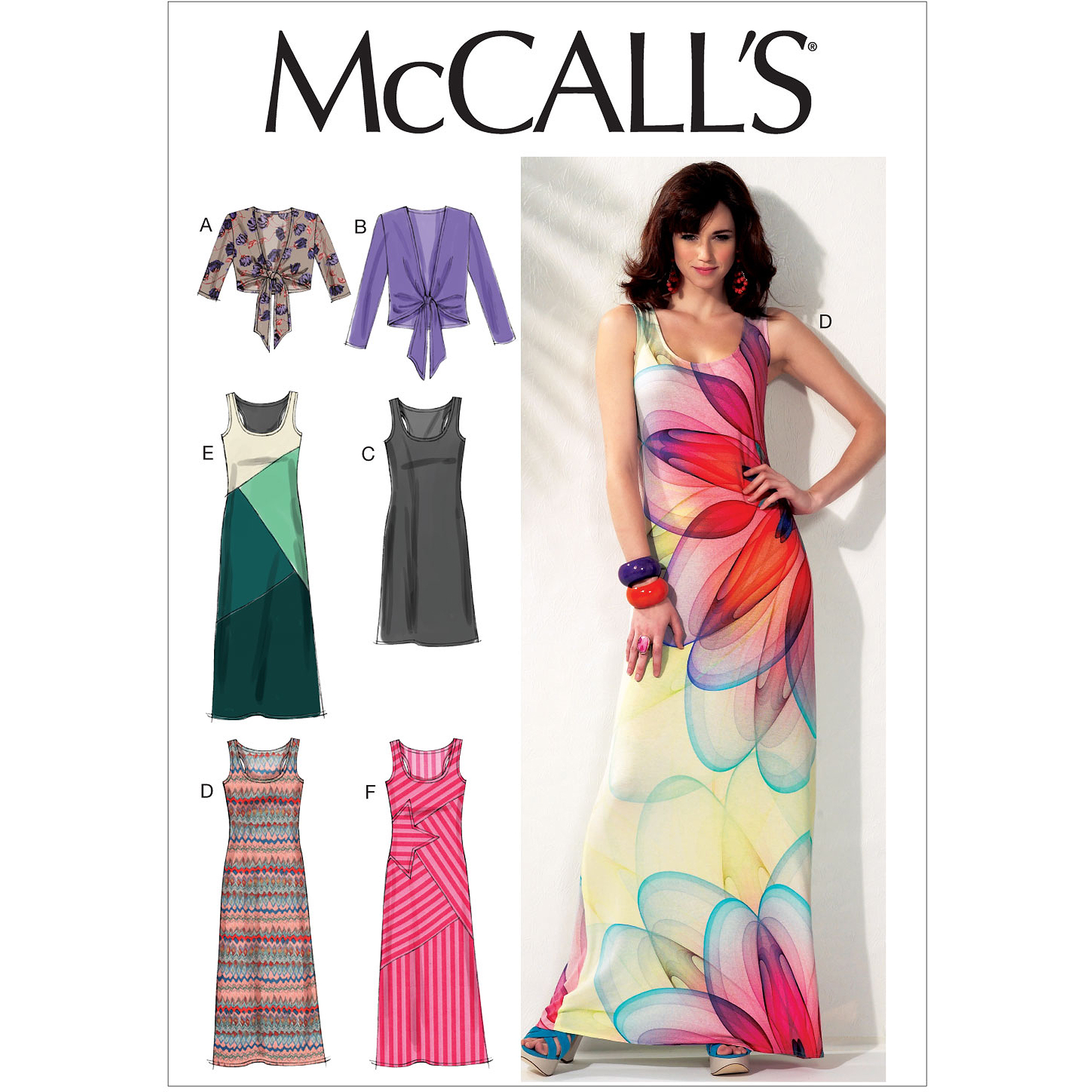McCall's Pattern Misses' Unlined Jackets and Dresses, A5 (6, 8, 10, 12, 14)