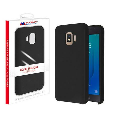 - Samsung Galaxy J2 PURE /J2 CORE /J2 Phone Case Slim Fit Thin Hybrid Liquid Silicone Soft Rubber Shockproof BLACK Cover Microfiber Lining Cushion Case for Samsung Galaxy J2 /J2 Core (J260) /J2 Pure