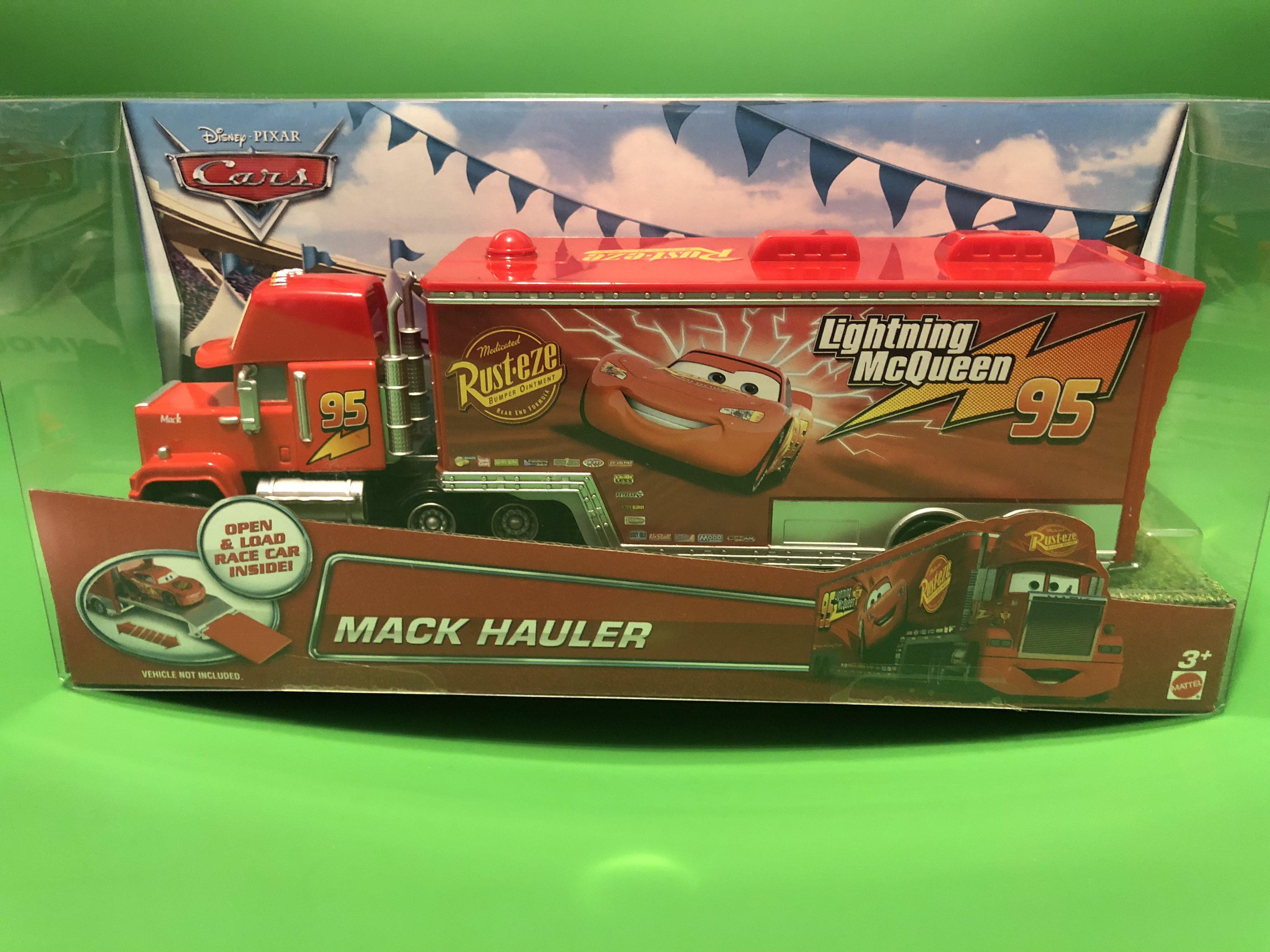 Excellent Disney Cars Mack Truck Hauler Walmart Com Evergreenethics Interior Chair Design Evergreenethicsorg