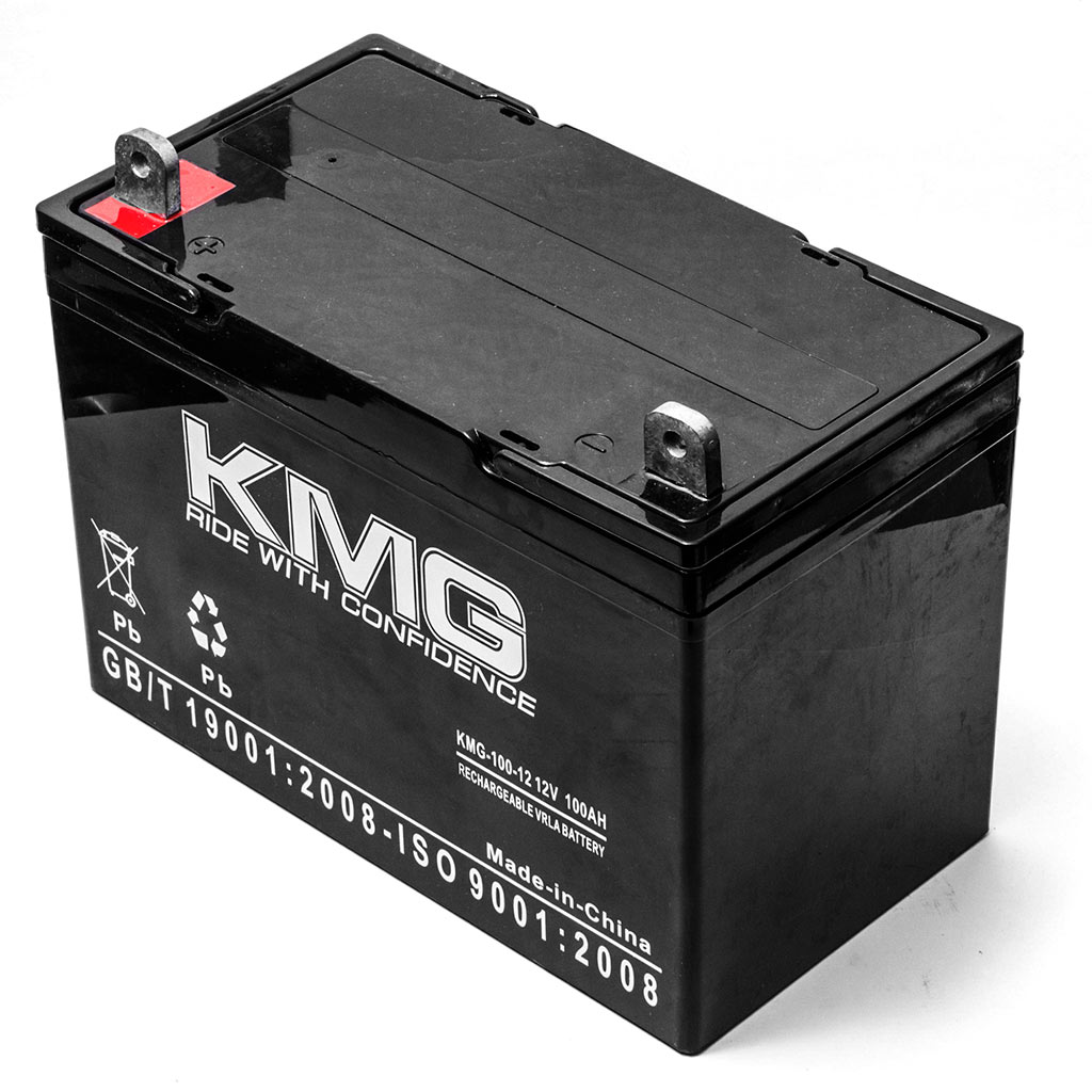 KMG 12V 100Ah Replacement Battery for Nissan EWP45 - image 1 of 3