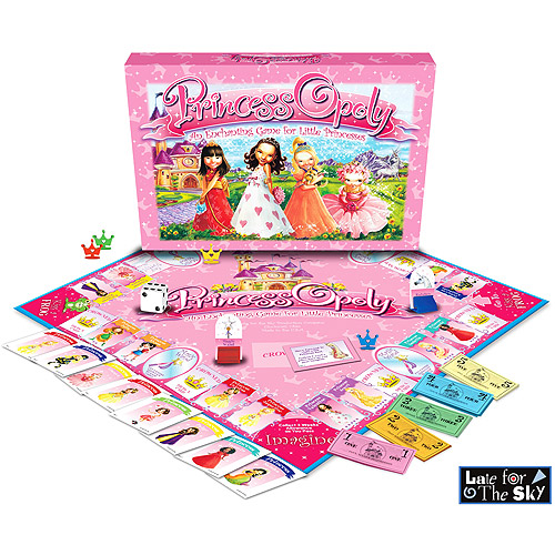 Princessopoly Board Game