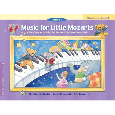 Music for Little Mozarts: Music for Little Mozarts Music Lesson Book, Bk 4: A Piano Course to Bring Out the Music in Every Young Child (Paperback) (Halloween Music Lessons)