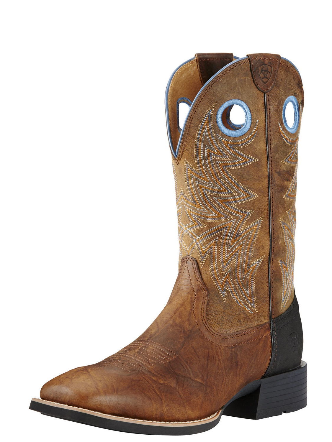 Ariat Heritage Cowhorse Pointed Toe Leather Western Boot by Ariat