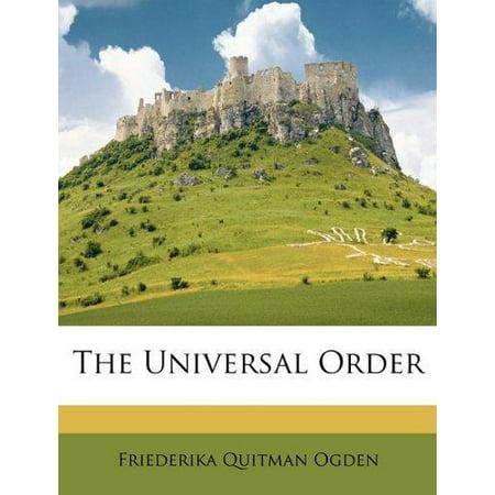 The Universal Order - image 1 de 1