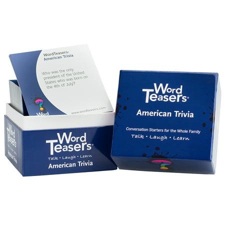 Word Teasers WT-0008 Wordteasers American Trivia](Halloween 7 Trivia)