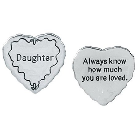 - Daughter Pocket Token Charm Gift for Daughter
