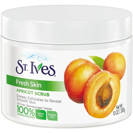 St. Ives Fresh Skin Invigorating Apricot Scrub 10 oz