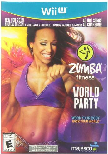 Majesco O1806 Zumba Fitness World Party Game Wii U by