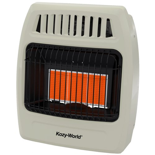 DuraHeat Kozy World 18,000 BTU Natural Gas Infrared Wall Mounted Heater