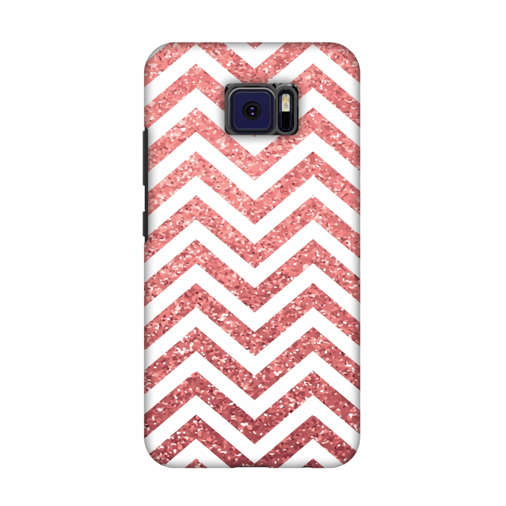 Asus ZenFone V V520KL Case - All that Glitters Chevron 1, Hard Plastic Back Cover. Slim Profile Cute Printed Designer Snap on Case with Screen Cleaning Kit