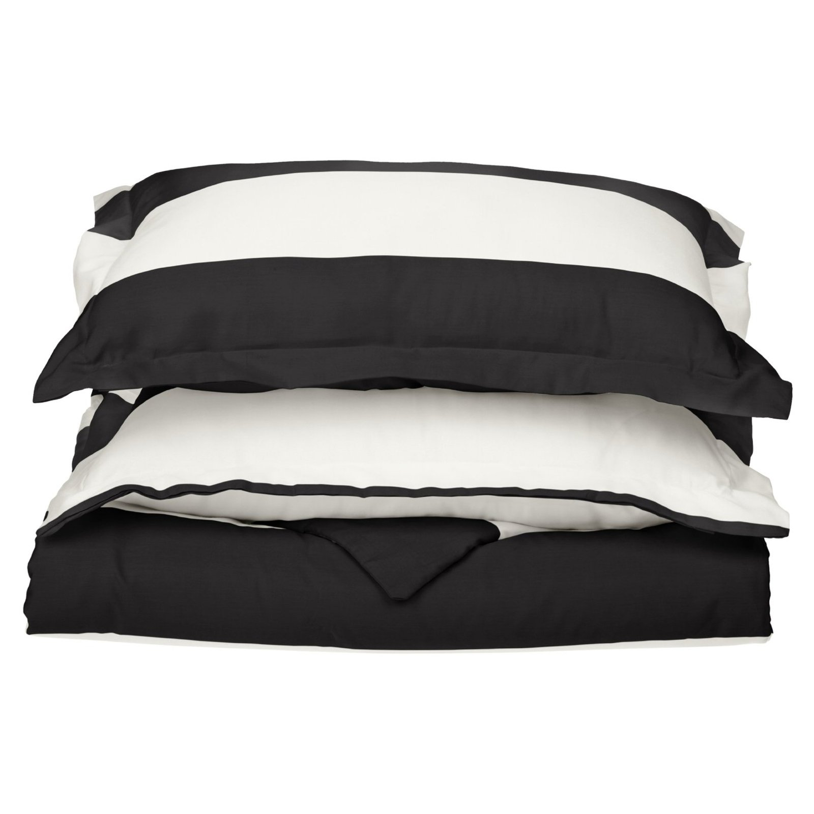 Superior Cotton Rich 600 Thread Count Cabana Duvet Cover Set