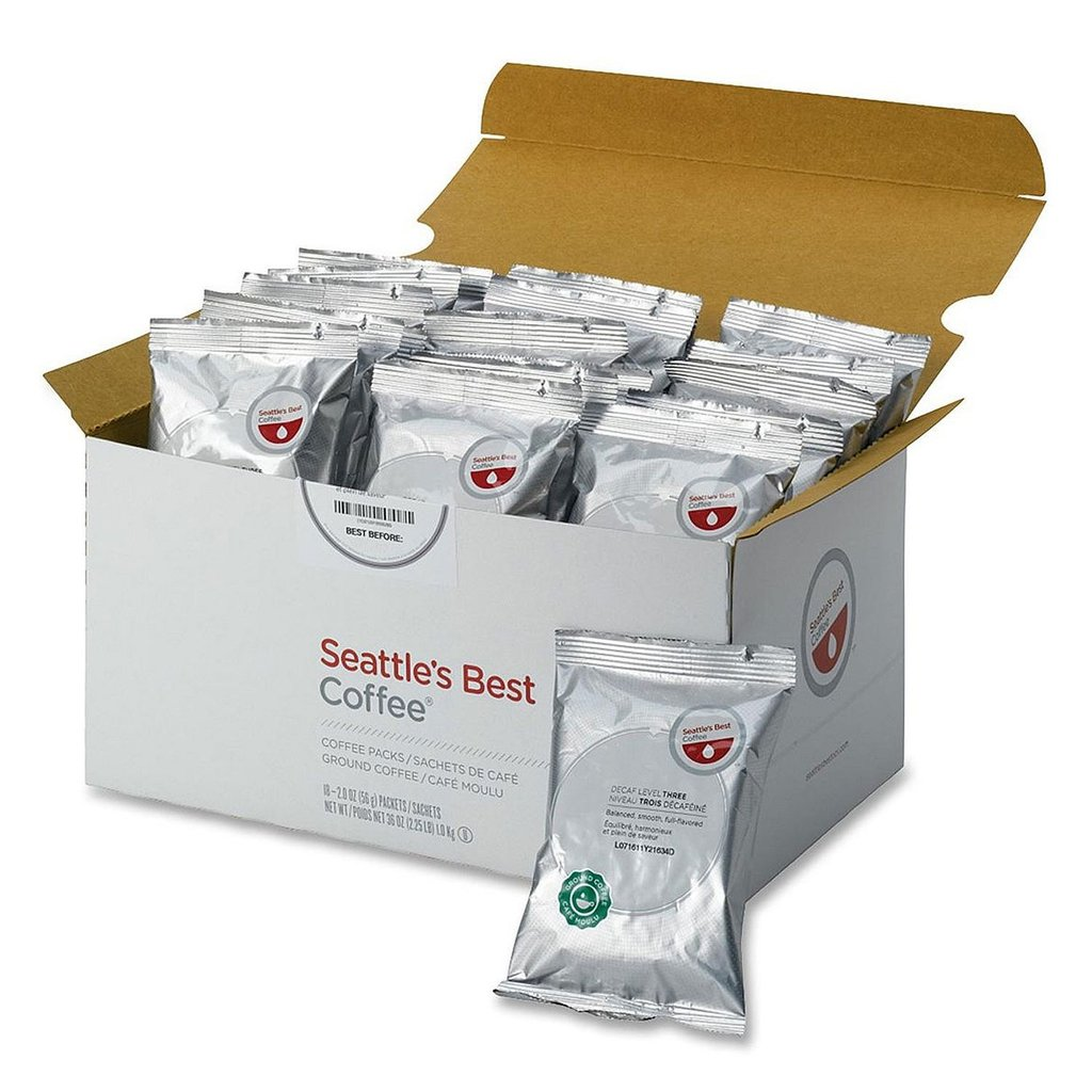 Seattle s Best Portion Packs Decaffeinated Coffee  2 oz. ...