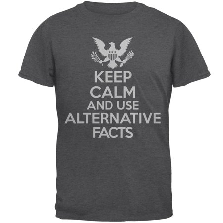 Donald Trump Keep Calm Alternative Facts Mens T Shirt - image 1 of 1