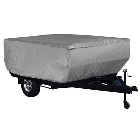 Leader Accessories Pop up Folding Camper Cover Fits RV Trailer 3 Layer - Folding Camper Trailer Cover