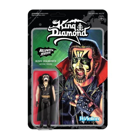 ReAction Halloween Series King Diamond Action Figure
