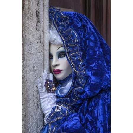 Europe, Italy, Venice. Close-Up of Woman in Carnival Costume Print Wall Art By Jaynes (Best Art Galleries In Europe)