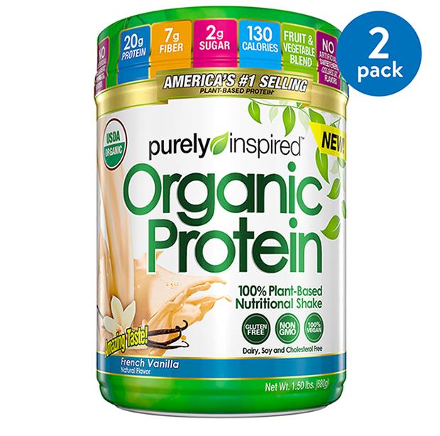 Lifetime Lifes Basics Plant Based Protein Powder | Natural