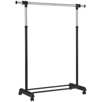 Mainstays Adjustable Rolling Garment Rack