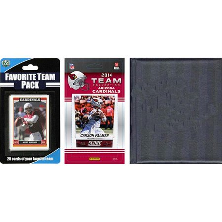 C & I Collectibles Licensed 2014 Score Team Set and Favorite Player Trading Card Pack Plus Storage Album](Arizona Trading Company)