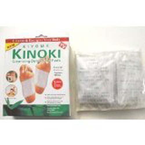 QBP Scalar Energy KINOKI Cleansing Detox Foot Pads - Pack of 10