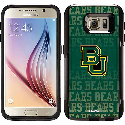Baylor Repeating Design on OtterBox Commuter Series Case for Samsung Galaxy S6
