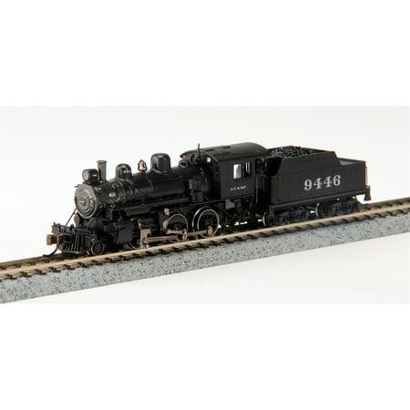 Bachmann 51754 N Santa Fe Alco 2-6-0 Steam Locomotive & Tender w/DCC #9446