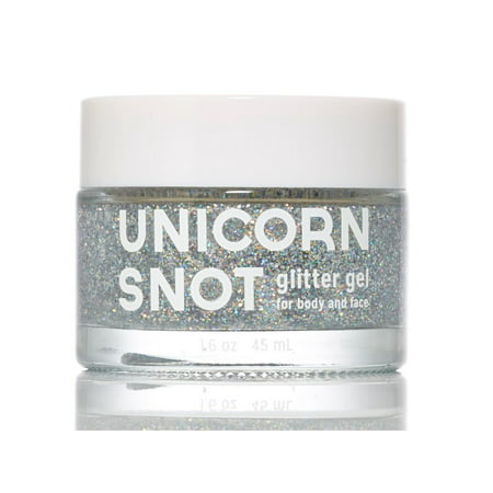 FCTRY Unicorn Snot Glitter Gel for Face, Body and Hair, 45ml Silver 20762