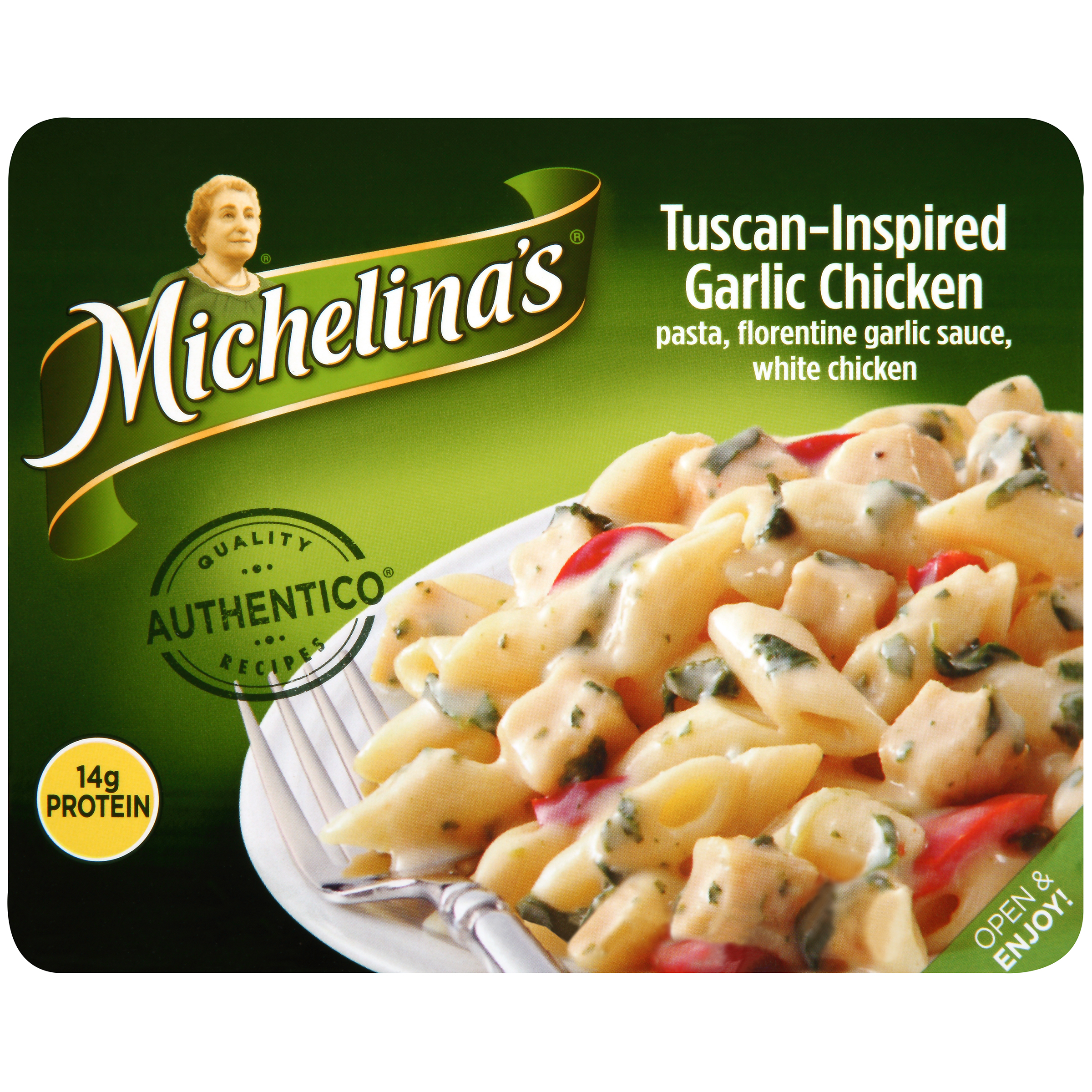 Michelina's�� Authentico�� Tuscan-Inspired Garlic Chicken 8 oz. Tray