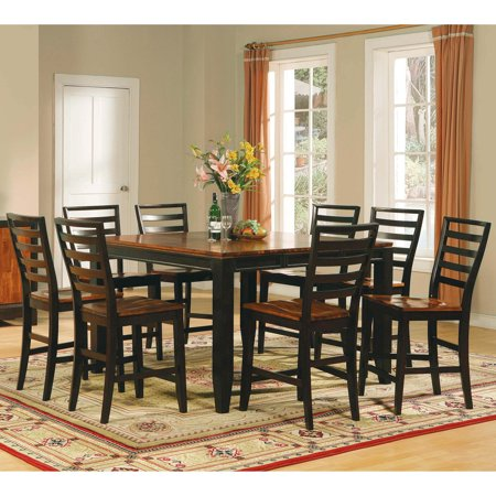Steve Silver Abaco 9 Piece Counter Height Dining Table Set