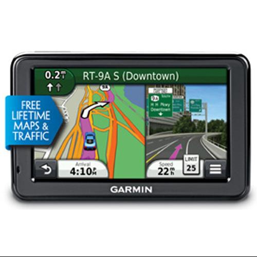 "Refurbished Garmin Nuvi 2455LMT 4.3"" GPS with Lifetime Maps & Traffic Updates"