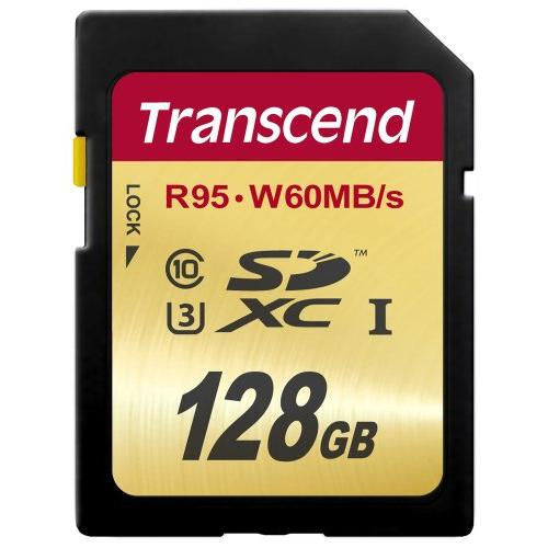 Transcend 128 Gb Secure Digital Extended Capacity [sdxc] - Class 10/uhs-i - 95 Mbps Read - 60 Mbps Write - 1 Card (ts128gsdu3)